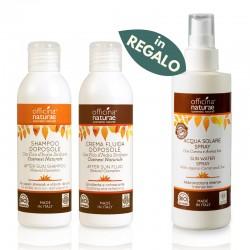 SunSet: Shampoo e Crema Doposole, con Acqua Solare in OMAGGIO