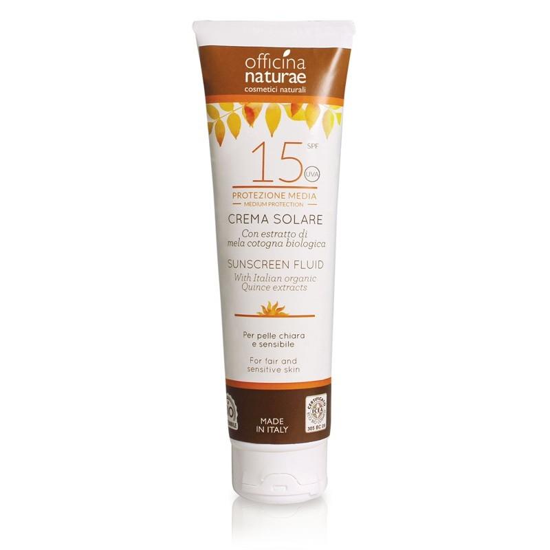 Crema Solare Naturale SPF 15