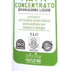Detersivo Piatti Ecologico senza profumo