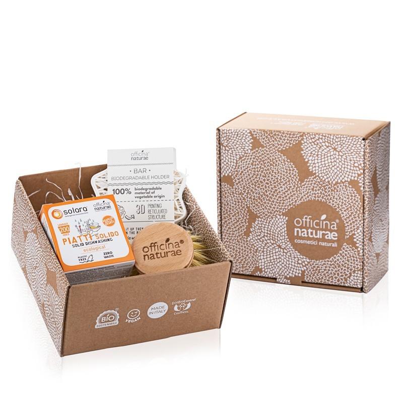 Gift Box Piatti Solido Arancio