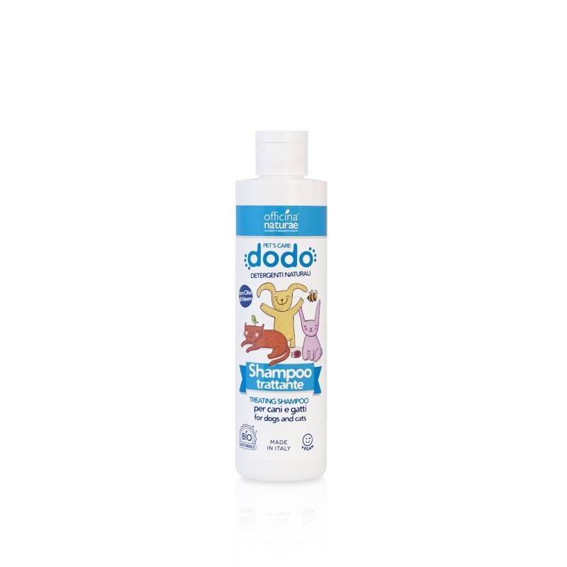 Shampoo trattante per cani e gatti