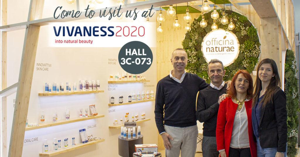Officina Naturae al Vivaness 2020