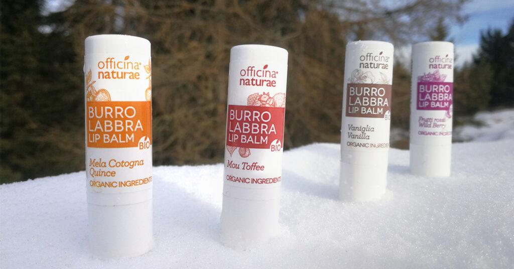I Burri Labbra Bio per l'inverno