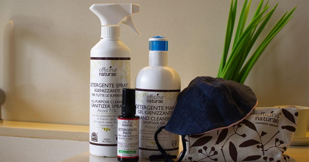 Igienizzare e proteggere naturalmente