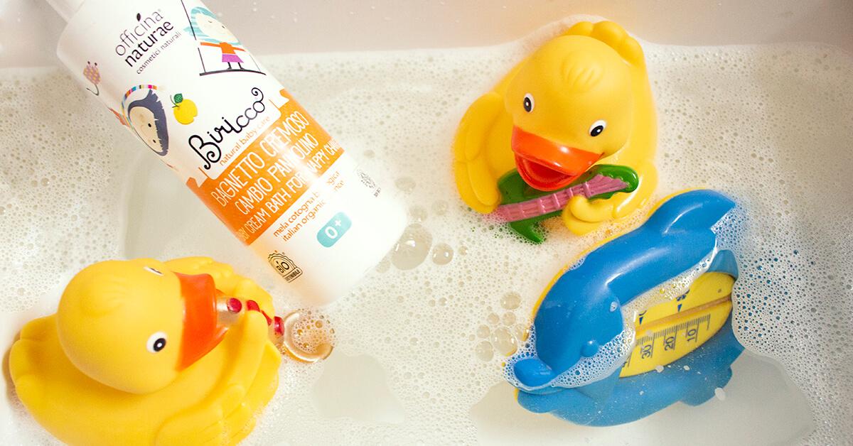 Il bagnetto dei bimbi