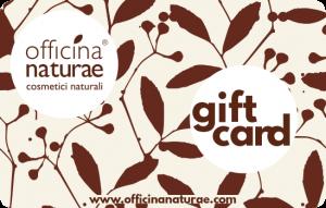 Gift card Officina Naturae
