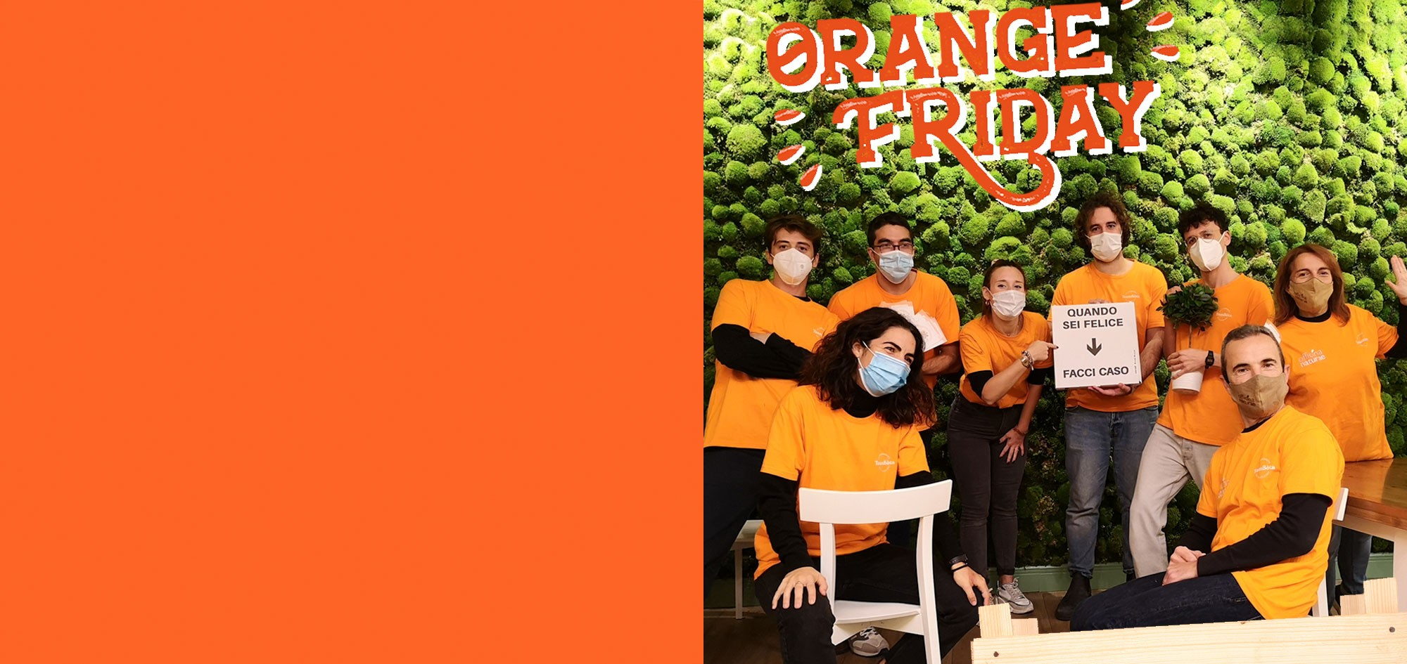 Orange Friday, un Black Friday diverso e solidale